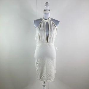 Charlotte Russe Women White Dress Sz Large